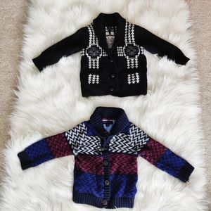 Tommy Hilfiger and Gap Wool Blend Sweater Cardigan